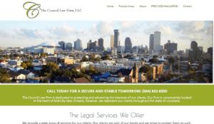 law firm web design, lawyer web design, legal website design