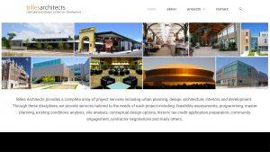 Billes Projects architect website design