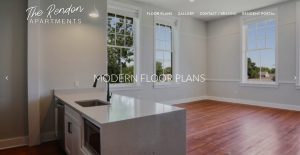Rendon Apartment in New Orleans Web Design