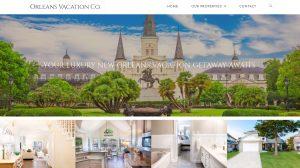 Real Estate Web Site Design - Vacation Rental, Short term rental website design