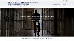 Bail Bonds Website Design - New Orleans