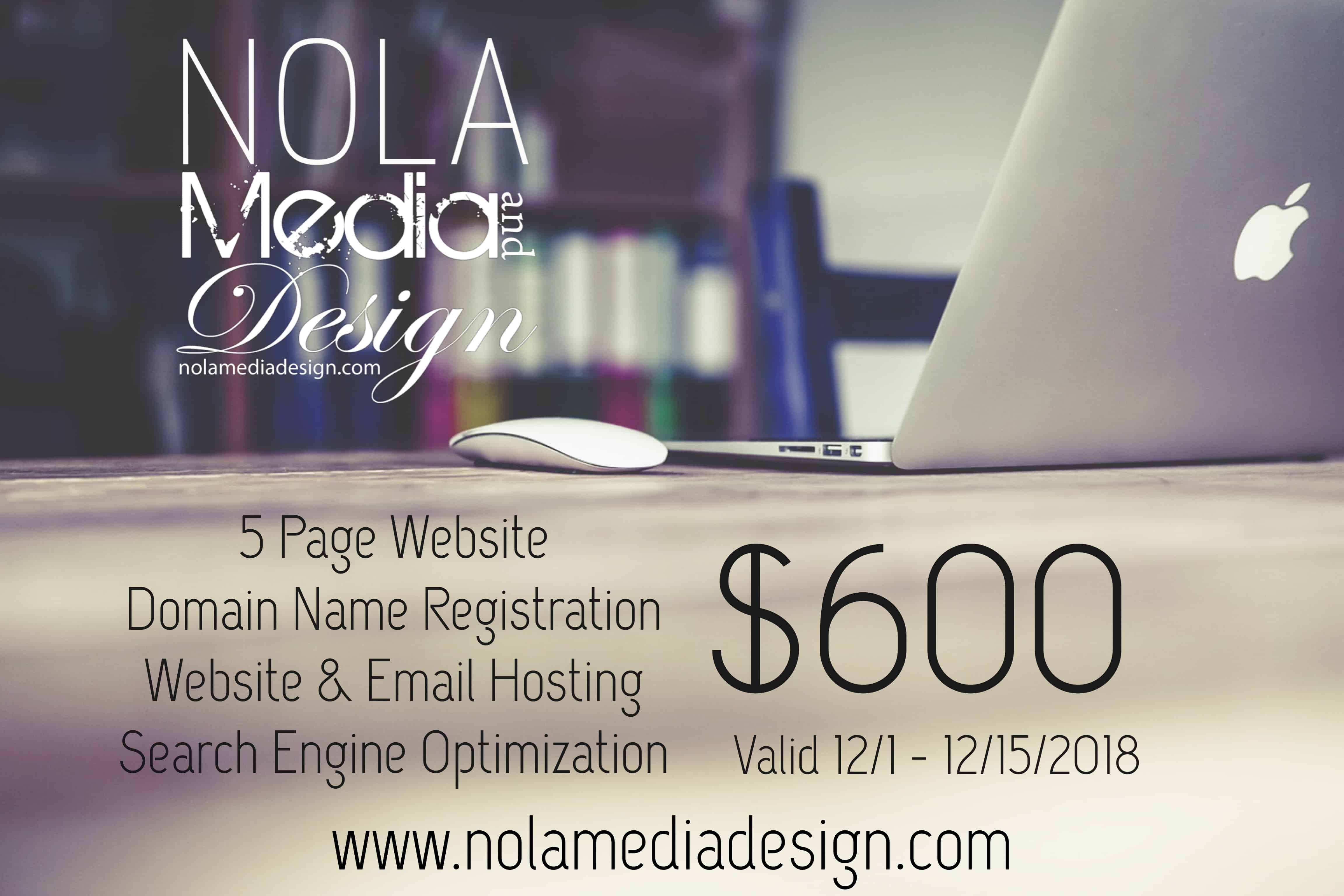 Web Site Design in New Orleans
