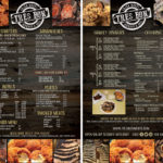 menu design, graphic design - new orleans graphic designer