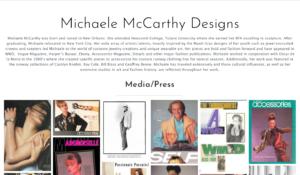 custom jewelry designer website design