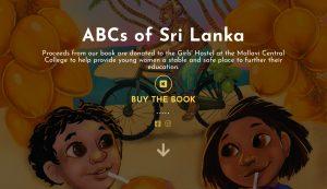 ABCs of Sri Lanka book website design