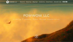 Financial Planner website design