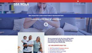 1 page website design - landing pages - new orleans website designer NOLA MEDIA AND DESIGN