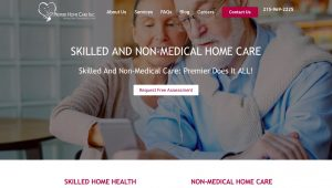 Senior Care - Skilled Nursing Home Website Design