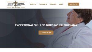 Louisiana Healthcare Nursing Web Site Design