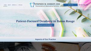 Dentist Website Design - Baton Rouge New Orleans Louisiana